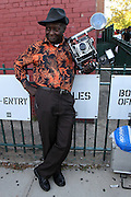 August 22, 2015- Brooklyn, NY-United States: Photographer Louis Mendes attends the 2015 AFROPUNK Festival on August 22, 2015 held at Commodore Barry Park in Brooklyn, New York City.  AFROPUNK is an influential community of young, gifted people of all backgrounds who speak through music, art, film, comedy, fashion and more. Originating with the 2003 documentary that highlighted a Black presence in the American punk scene, it is a platform for the alternative and experimental.(Terrence Jennings/terrencejennings.com)