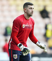Frank Fielding of Bristol City warms up - Mandatory by-line: Arron Gent/JMP - 23/02/2019 - FOOTBALL - Carrow Road - Norwich, England - Norwich City v Bristol City - Sky Bet Championship