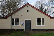 Community hall location BBC TV comedy The Detectorists, Framlingham, Suffolk, England, UK