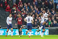 Tottenham Hotspur v Bournemouth 261218