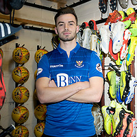 St Johnstone Sign Matt Butcher