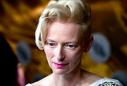 Tilda Swinton attending the BFI Luminous Fundraising Gala held at the Guildhall, London.