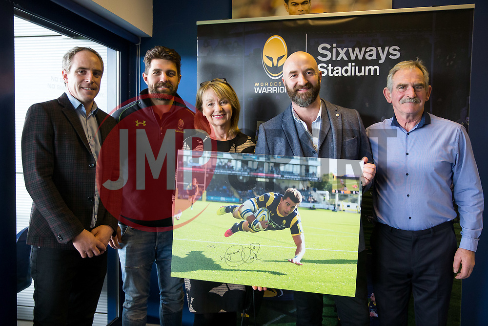 Worcester Warriors Player Sponsors Lunch - Rogan Thomson/JMP - 14/03/2017 - RUGBY UNION - Sixways Stadium - Worcester, England.