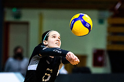 Polona Marusic of Calcit Volley during 3rd Leg Volleyball match between Calcit Volley and Nova KBM Maribor in Final of 1. DOL League 2020/21, on April 17, 2021 in Sportna dvorana, Kamnik, Slovenia. Photo by Matic Klansek Velej / Sportida