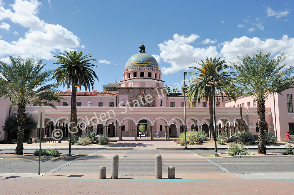 Completed in 1928 the Old Tucson Courthouse is one of the signature buildings in downtown Tucson. <br /> <br /> Although there is a new building which handles much of the courts business, the old courthouse is still actively used. <br /> <br /> It is listed in the National Register of Historic Places.