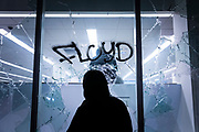 OAKLAND, CA - MAY 29: Demonstrators vandalize and loot a Walgreens pharmacy in Downtown Oakland during protests against the death of George Floyd in police custody, in Oakland, California on May 29, 2020. (AP Photo/Philip Pacheco)