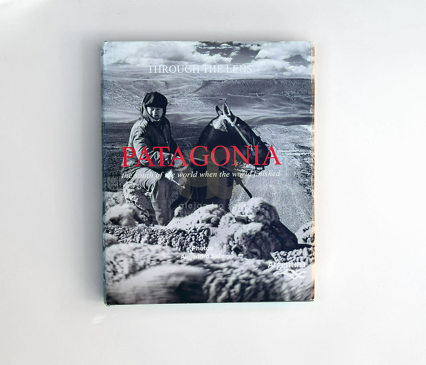 PATAGONIA. The South of the word when the world finished commissioned by Casa Figueroa Editor, Buenos Aires, Argentina. Published in October 2014 by apspressimage, USA.The publication  received the NATION BRANDING (Marca Pals) from the Argentine Government in 2016. Photographs by Alejandro Sala