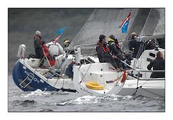 Brewin Dolphin Scottish Series 2011, Tarbert Loch Fyne - Yachting - Day 1 of the 4 day series..IRL1332 ,Equinox ,Ross McDonald, Howth YC ,X332.GBR2097R, Jackaroo, Jim & Steve Dick, Royal Southern YC, J97..