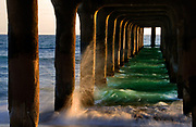 Manhattan Beach Pier Los Angeles California