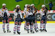 29.03.2011, Kloten, Eishockey NLA Playoff, Kloten-Flyers - SC Bern, Enttaeuschte Spieler des SC Bern  (Thomas Oswald/hockeypics)