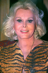 File photo dated 07/01/1993 of Actress Zsa Zsa Gabor who has died at 99, a publicist for the star said.