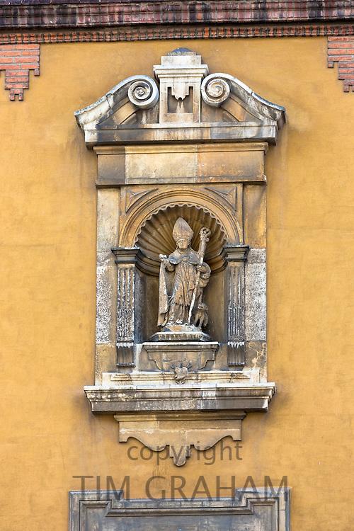 Papal Palace, Palacio Episcopal, in Plaza de Regla in Leon, Castilla y Leon, Spain