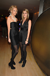 Left to right, the HON.SOPHIA HESKETH and VIOLET VON WESTENHOLTZ at a party to celebrate the launch of the Suka restaurant at the Sanderson Hotel, berners Street, London on 15th March 2007.<br />