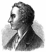 Thomas Young (1773-1829) English physicist and Egyptologist. Undulatory (wave) theory of light. Deciphering of Rosetta Stone. Wood engraving