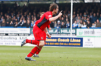 Photo: Richard Lane/Richard Lane Photography. <br /> Colchester United v Coventry City. Coca Cola Championship. 19/04/2008. City's Elliot Ward celebrates scoring his second goal from a penalty.