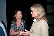 CORINNA FLICK; ALISON MYNERS, Opening of Eadweard Muybridge and Rachel Whiteread exhibitions. Tate Britain. Millbank. 6 September 2010. -DO NOT ARCHIVE-© Copyright Photograph by Dafydd Jones. 248 Clapham Rd. London SW9 0PZ. Tel 0207 820 0771. www.dafjones.com.