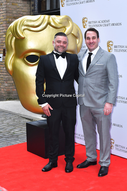 Arrivers at the British Academy Television Craft Awards on 28 April 2019, London, UK.