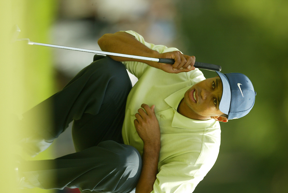 Tiger Woods..2003 U.S. Open..Third Round..Olympia Fields CC..Chicago, IL..Saturday June 14 2003..photograph by Darren Carroll