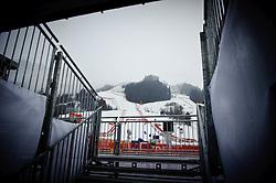 19.01.2011, Hahnenkamm, Kitzbuehel, AUT, FIS World Cup Ski Alpin, Men, Training, Aufgrund der Wettersituation wurde das erste Training abgesagt // Due to the weather conditions the 1st training has been cancelled, EXPA Pictures © 2011, PhotoCredit: EXPA/ S. Zangrando