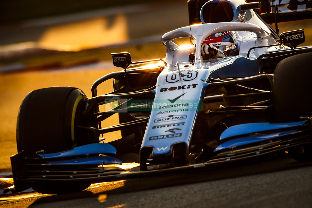 February 21, 2019 - Barcelona Barcelona, Espagne Spain - RUSSELL George (gbr), Williams Racing F1 FW42, action during Formula 1 winter tests from February 18 to 21, 2019 at Barcelona, Spain - Photo  Motorsports: FIA Formula One World Championship 2019, Test in Barcelona, (Credit Image: © Hoch Zwei via ZUMA Wire)
