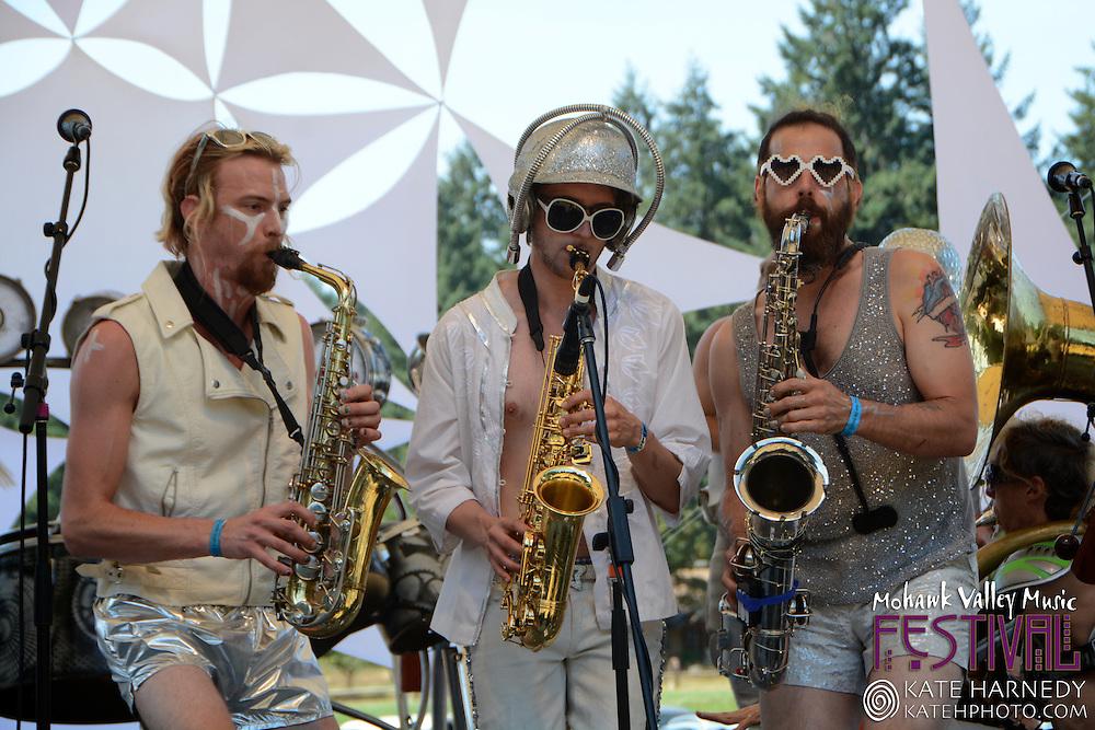 Love Bomb GoGo at Mohawk Valley Music Festival in Marcola Oregon