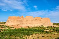 Ouzbekistan, region de Karakalpakstan, les citadelles du desert, Kyzyl Qala // Uzbekistan, Karakalpakstan province, desert citadel, Kyzyl Kala