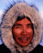 Inuit hunter Thomas Nutararerq, Baffin Island, Canada