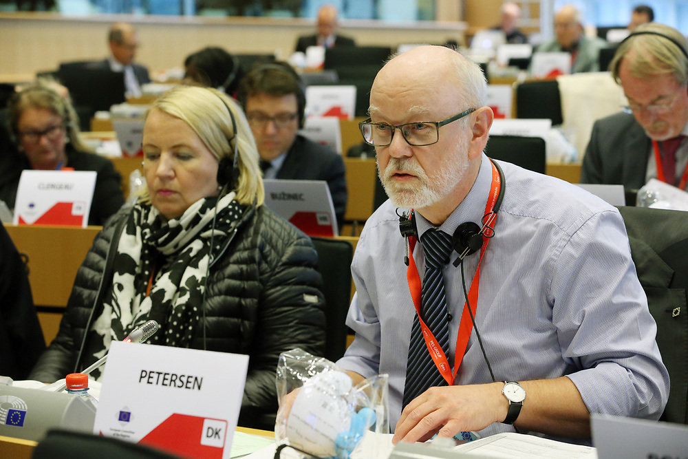 11 May 2017, 123rd Plenary Session of the European Committee of the Regions <br /> Belgium - Brussels - May 2017 <br /> <br /> PETERSEN Karsten Uno,Regional Councillor, Denmark<br /> <br /> © European Union / Patrick Mascart