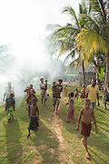 Villagers from Togum Village, Lake Murray, Middle Fly District, Western Province, Papua New Guinea