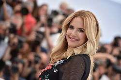File photo - Kelly Preston posing at the Rendezvous With John Travolta photocall held at the Palais des Festivals on May 15, 2018 in Cannes, France as part of the 71st annual Cannes Film Festival. Kelly Preston, the actress married to John Travolta, has died after a private battle with breast cancer, aged 57. The actress had been battling against breast cancer for two years, with a family representative confirming news of her passing to People today. Photo by Lionel Hahn/ABACAPRESS.COM