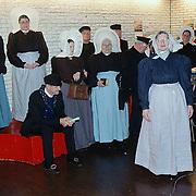 Nieuwjaarsreceptie 2000 gemeente Huizen, Huizer klederdrachtgroep