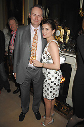 WILLIAM CASH and his fiance VANESSA NEUMANN at the engagement party of Vanessa Neumann and William Cash held at 16 Westbourne Terrace, London W2 on 15th April 2008.<br /><br />NON EXCLUSIVE - WORLD RIGHTS