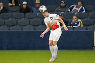 13 December 2015: Clemson's Aaron Jones (ENG). The Clemson University Tigers played the Stanford University Cardinal at Sporting Park in Kansas City, Kansas in the 2015 NCAA Division I Men's College Cup championship match. Stanford won the game 4-0.