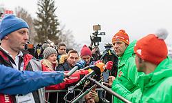 05.01.2016, Paul Ausserleitner Schanze, Bischofshofen, AUT, FIS Weltcup Ski Sprung, Vierschanzentournee, Training, im Bild Cheftrainer Werner Schuster (GER) // Austrian Headcoach Werner Schuster of Germany before the Practice Jump for the Four Hills Tournament of FIS Ski Jumping World Cup at the Paul Ausserleitner Schanze, Bischofshofen, Austria on 2016/01/05. EXPA Pictures © 2016, PhotoCredit: EXPA/ JFK