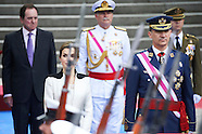052816 Spanish Royals attend the Armed Forces day