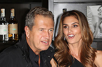 Mario Testino, Cindy Crawford, Cindy Crawford  'Becoming' book & Casamigos Tequila - launch party, The Beaumont Hotel, London UK, 01 October 2015, Photo by Richard Goldschmidt
