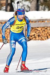 12.12.2010, Biathlonzentrum, Obertilliach, AUT, Biathlon Austriacup, Verfolgung Men, im Bild Maxim Ogarkov (RUS, #26). EXPA Pictures © 2010, PhotoCredit: EXPA/ J. Groder
