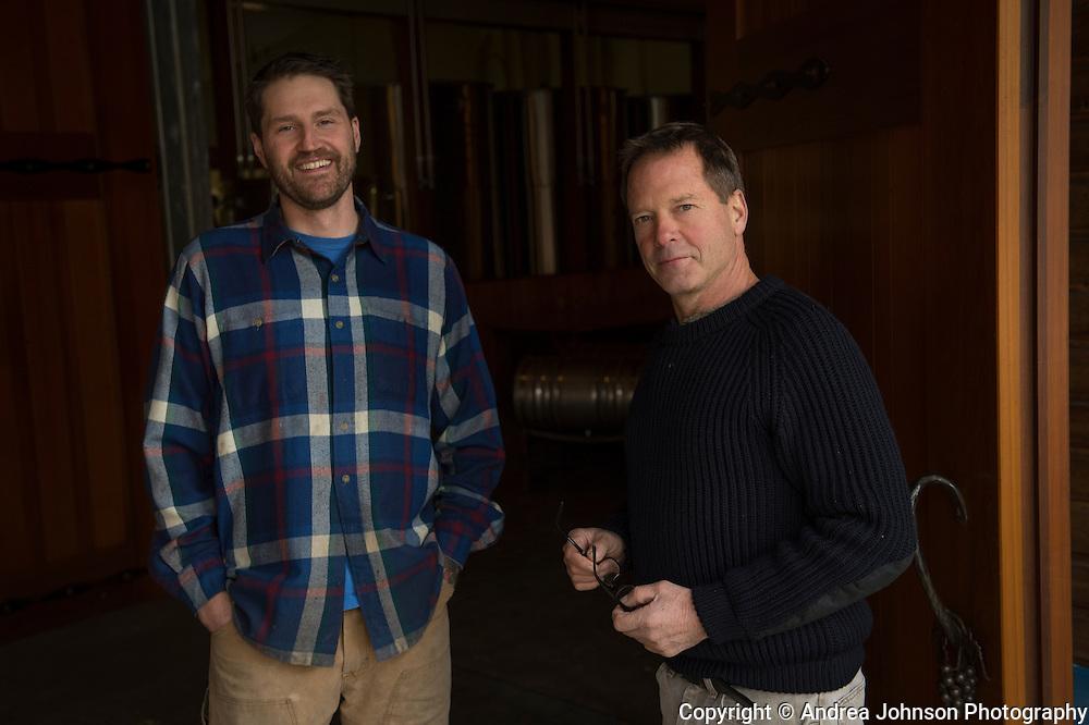 Mike Etzel & Grant Coulter, Beaux Freres, Ribbon Ridge, Willamette Valley, Oregon