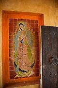 Virgin of Guadalupe, Casa Barragan, Chapala, Lake Chapala, Jalisco, Mexico