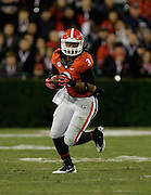ATHENS, GA - NOVEMBER 23:  Tailback Todd Gurley #3 of the Georgia Bulldogs runs during the game against the Kentucky Wildcats at Sanford Stadium on November 23, 2013 in Athens, Georgia.  (Photo by Mike Zarrilli/Getty Images)