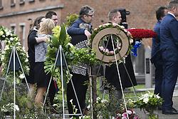 April 24, 2018 - Hallaar, Belgique - HALLAAR, BELGIUM - APRIL 24 :  during the funeral GOOLAERTS Michael (BEL) of Veranda's Willems - Crelan on April 24, 2018 in Hallaar, Belgium, 24/04/2018 (Credit Image: © Panoramic via ZUMA Press)