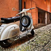 The Vespa - Italy in HDR..Marco Secchi.e-mail ms@msecchi.com .www.marcosecchi.com