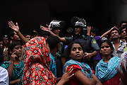 Police 'action' begins as soon as the workers start getting united. 30th June 2010, Dhaka, Bangladesh.