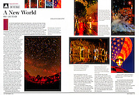 """My new travel photography column """"On the Road"""" in the September 2013 issue of Shutterbug Magazine. The column appears in the magazine bi-monthly."""