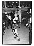 baroness francesca Thyssen Centre-point party cafe de paris, London, 16 december 1986© Copyright Photograph by Dafydd Jones 66 Stockwell Park Rd. London SW9 0DA Tel 020 7733 0108 www.dafjones.com
