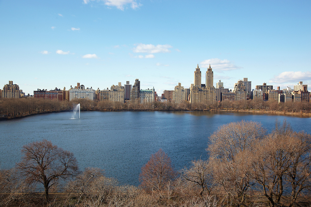 View of the Central Park Reservoir from 1080 Fifth Avenue, 11th floor