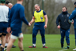 Max Lahiff of Bristol Bears in action during a training session - Rogan/JMP - 04/03/2021 - RUGBY UNION - Bristol Bears High Performance Centre - Bristol, England.