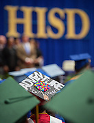 Summer graduation ceremonies at Delmar Fieldhouse, August 17, 2013.