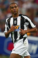 Milano 27/7/2004 Trofeo Tim - Tim tournament <br /> <br /> David Trezeguet Juventus<br /> <br /> <br /> <br /> Inter Milan Juventus <br /> <br /> Inter - Juventus 1-0<br /> <br /> Milan - Juventus 2-0<br /> <br /> Inter - Milan 5-4 d.cr - penalt.<br /> <br /> <br /> <br /> Photo Andrea Staccioli Graffiti