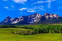 The Dallas Divide (Sneffels Range in back), near RIdgway, Colorado USA